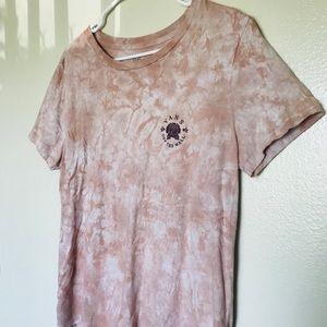 Vans pink tie-dye T-shirt